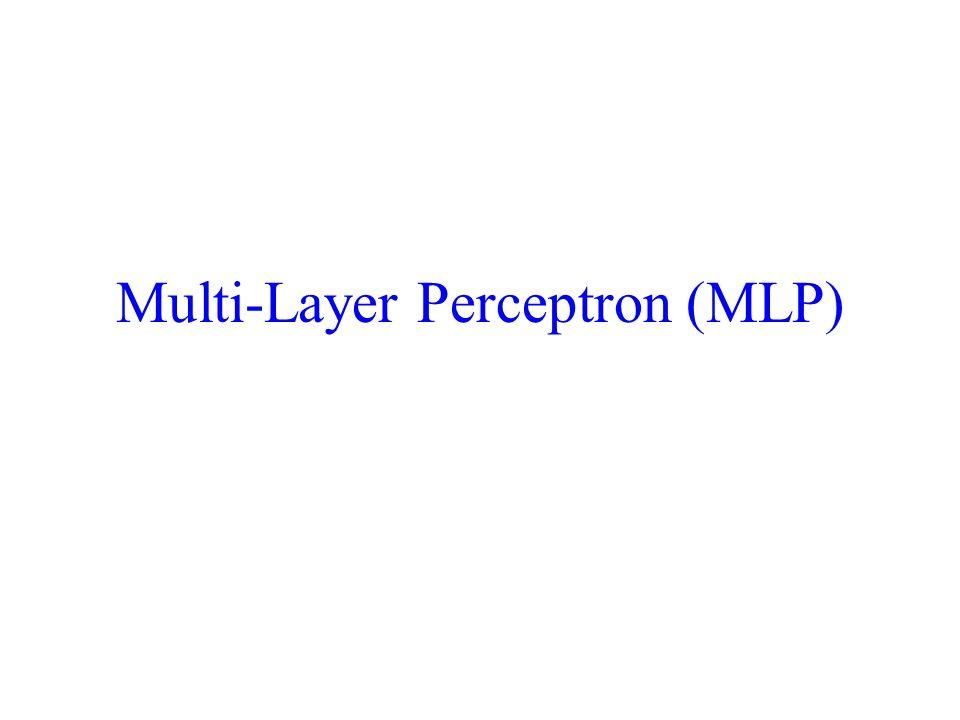 Multi-Layer Perceptron (MLP)