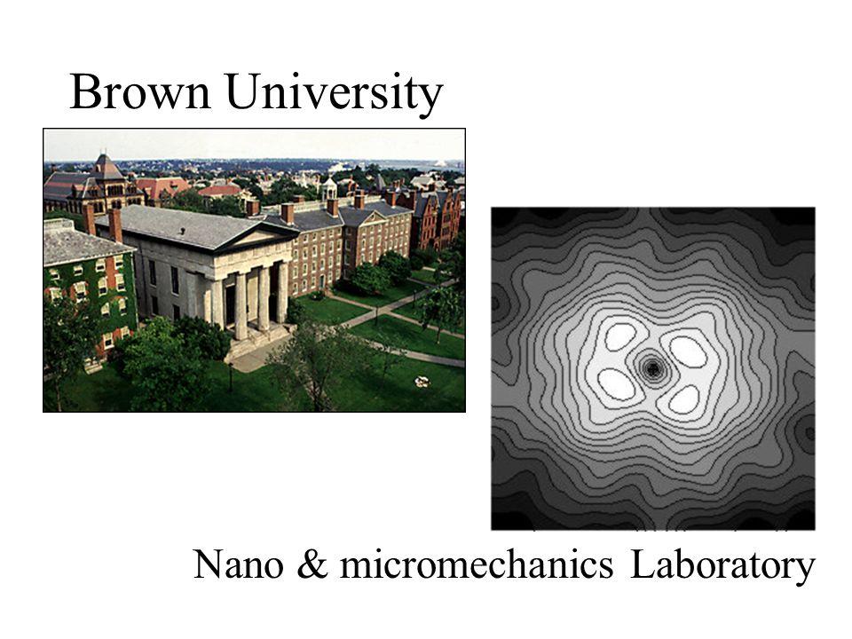 Brown University Nano & micromechanics Laboratory