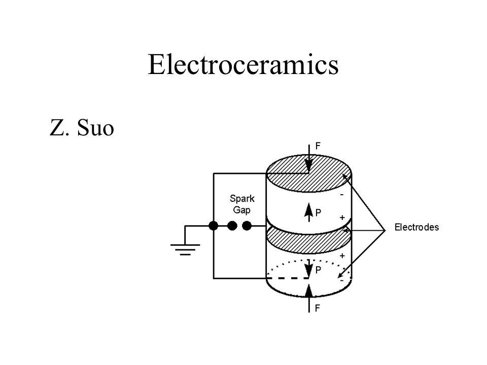 Electroceramics Z. Suo