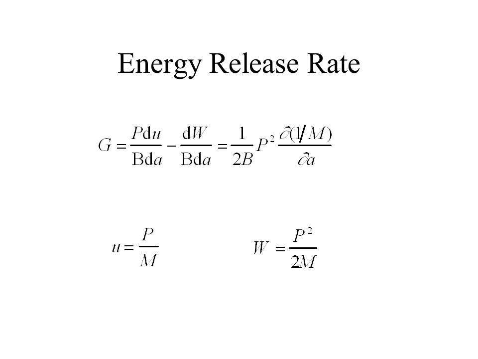 Energy Release Rate