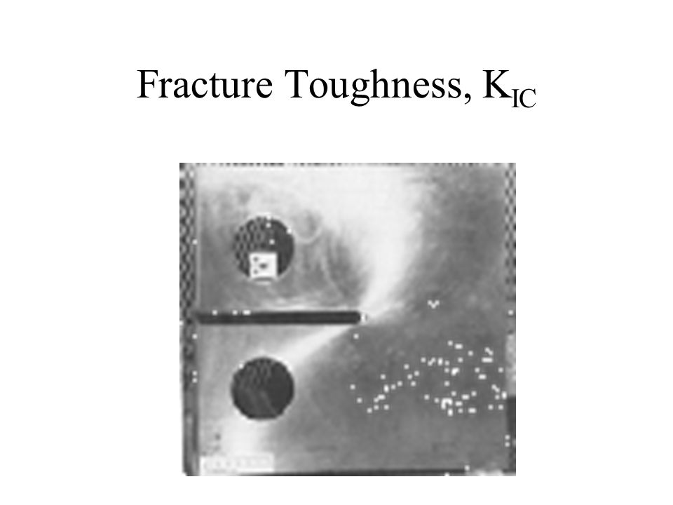 Fracture Toughness, K IC