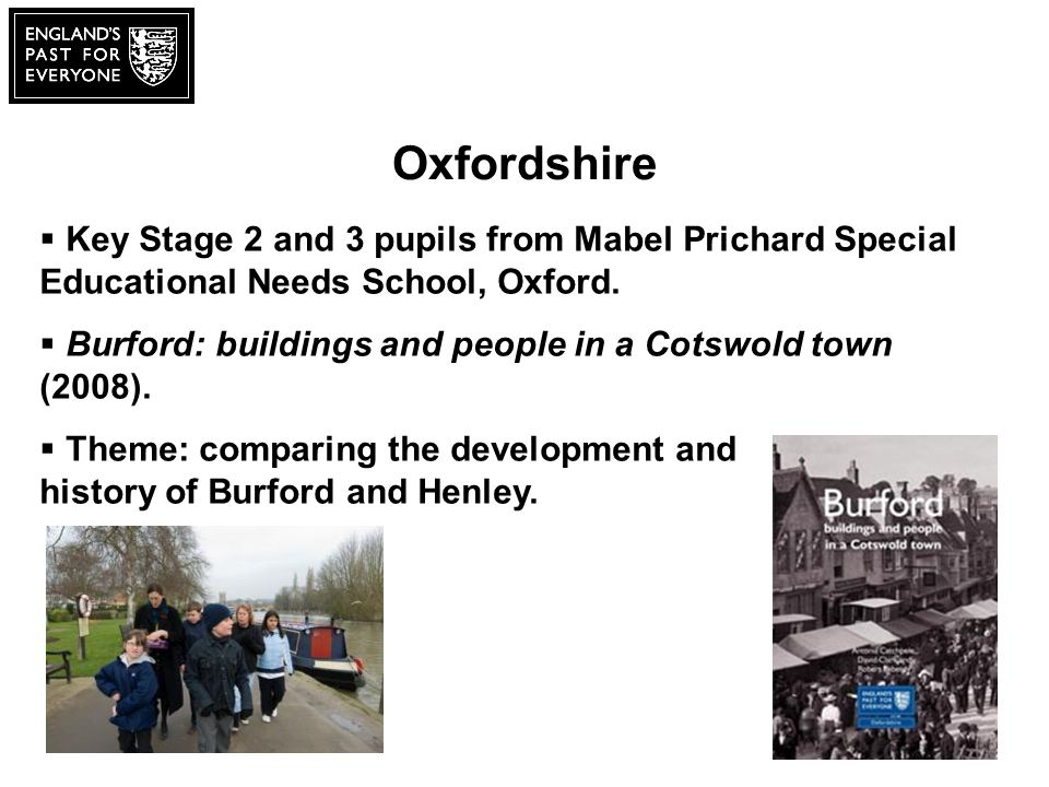 Oxfordshire Key Stage 2 and 3 pupils from Mabel Prichard Special Educational Needs School, Oxford.
