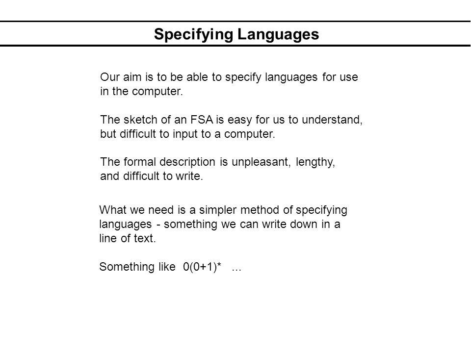 Regular Languages Write as a regular expression: 4.