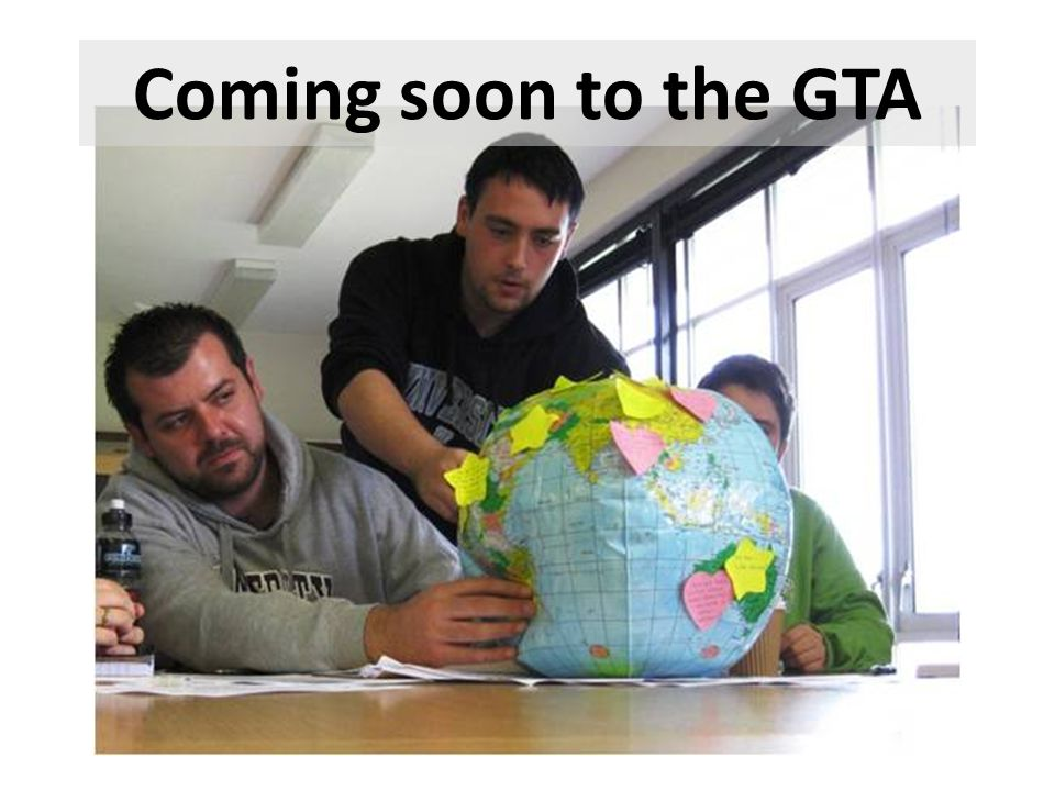 Coming soon to the GTA