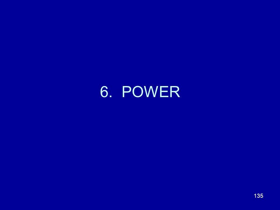 135 6. POWER