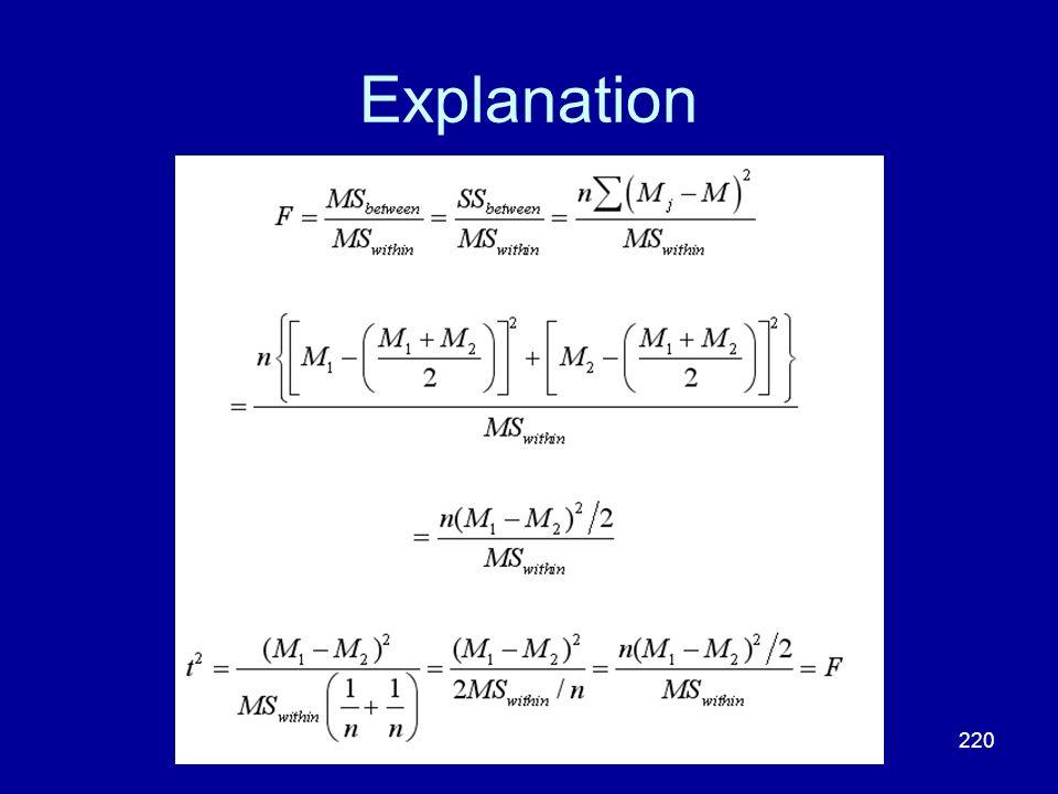 220 Explanation