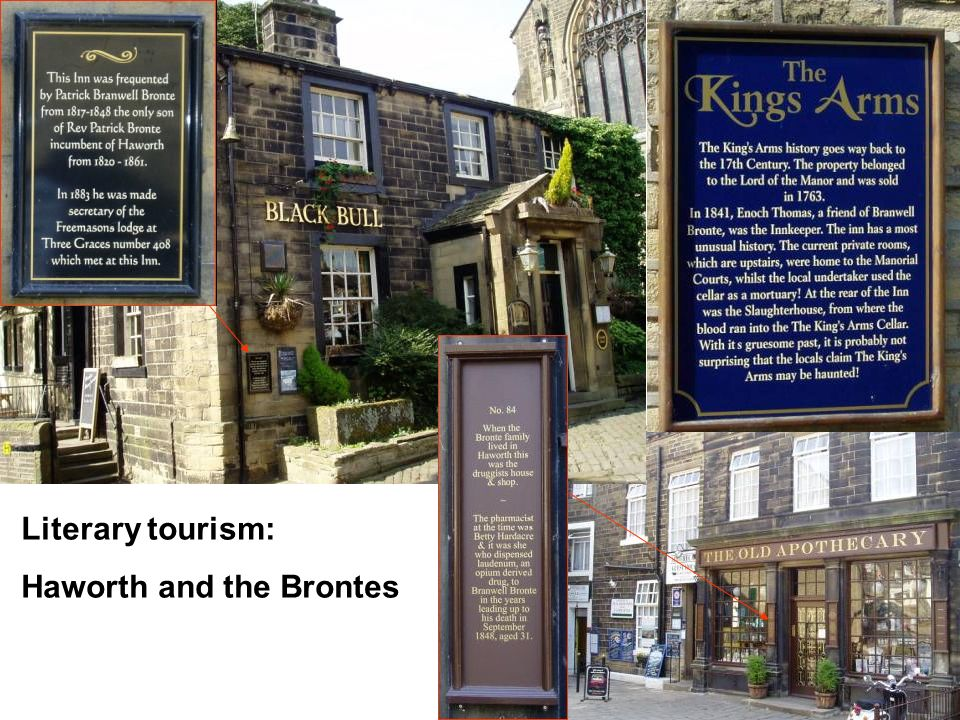 Literary tourism: Haworth and the Brontes