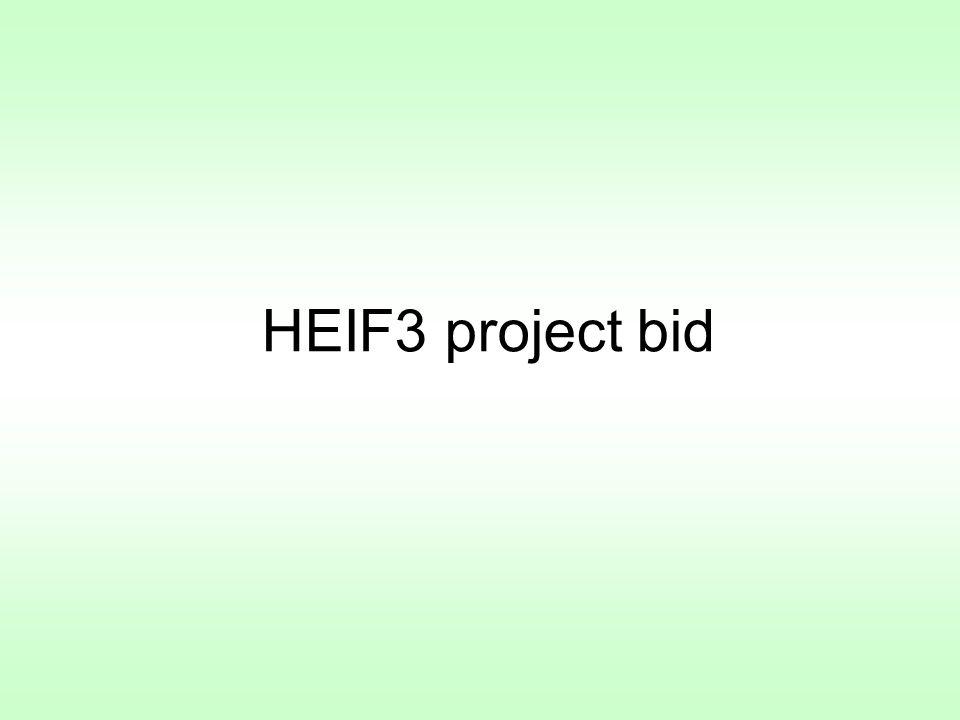 HEIF3 project bid