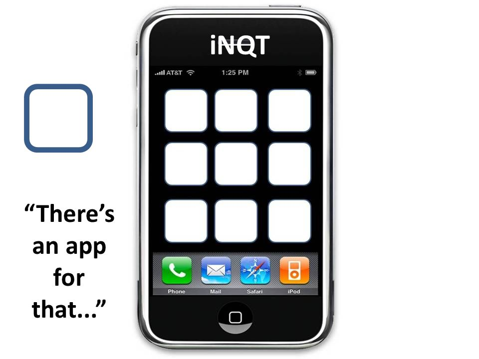 iNQT Theres an app for that...