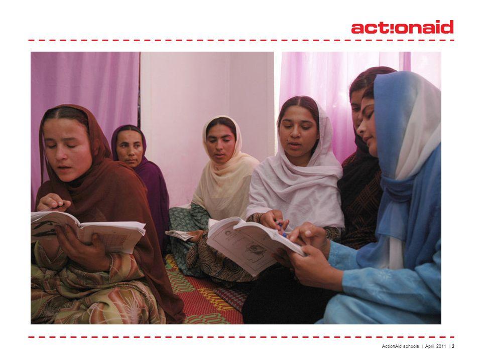 ActionAid schools | April 2011 | 2