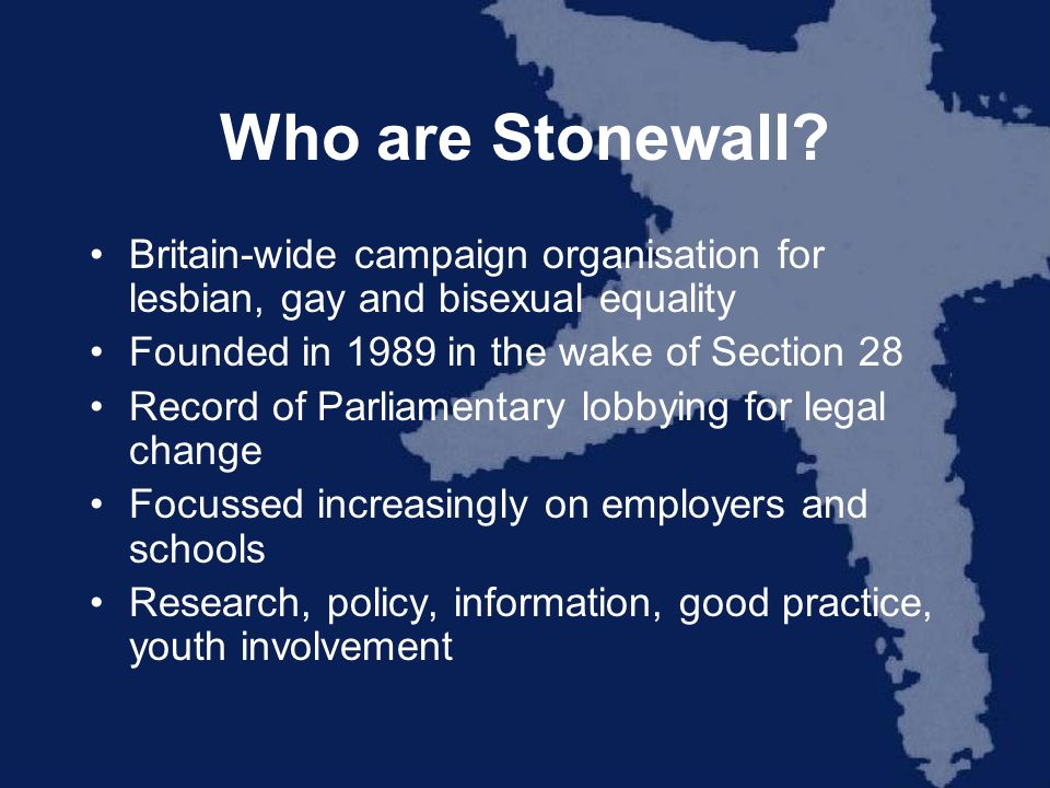 Who are Stonewall.