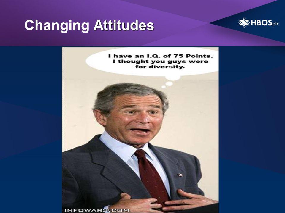 Attitudes Changing Attitudes