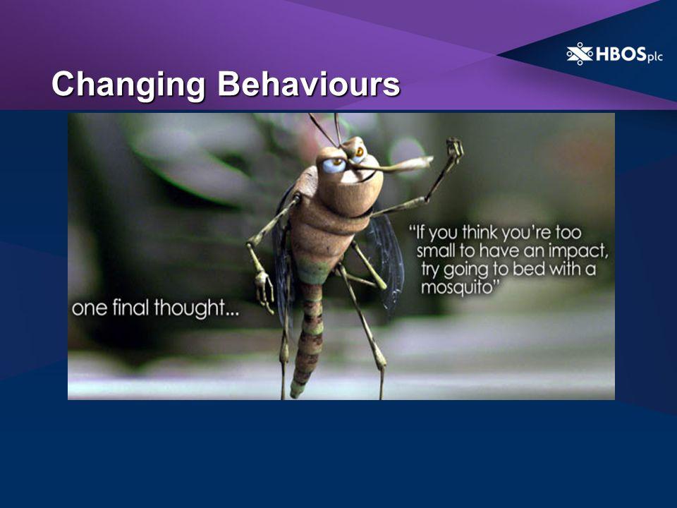 Changing Behaviours