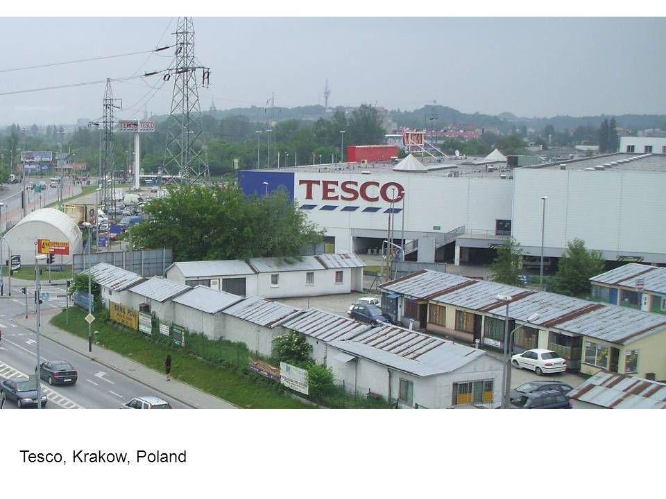 Tesco, Krakow, Poland