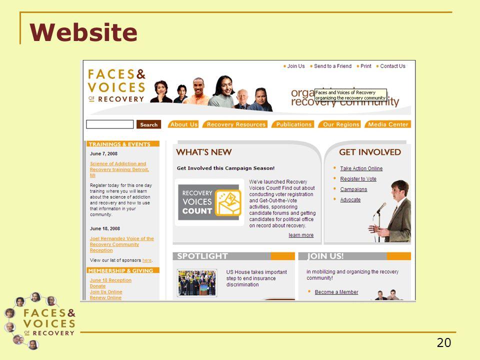 20 Website