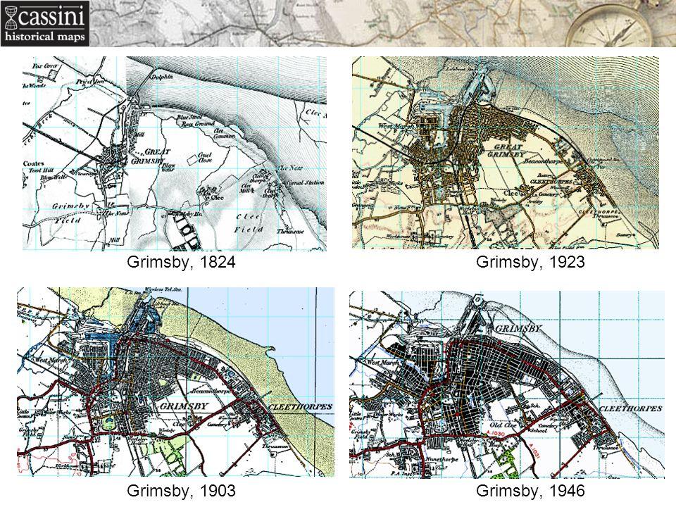 Grimsby, 1824 Grimsby, 1923 Grimsby, 1903 Grimsby, 1946