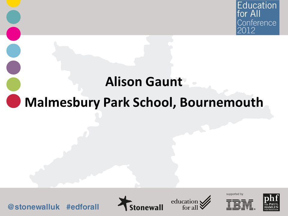 Alison Gaunt Malmesbury Park School, Bournemouth