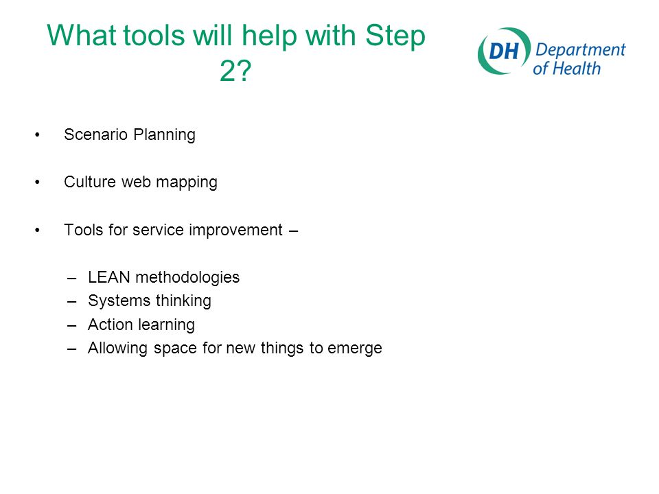 What tools will help with Step 2.
