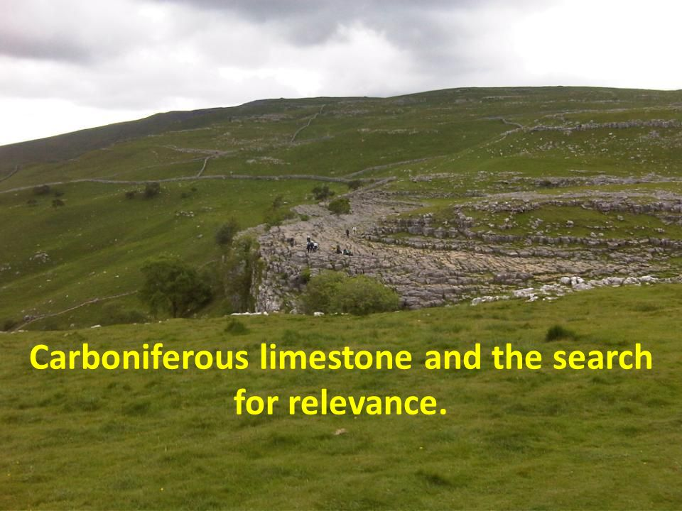 Properties of carboniferous limestone Slide removed for copyright reasons
