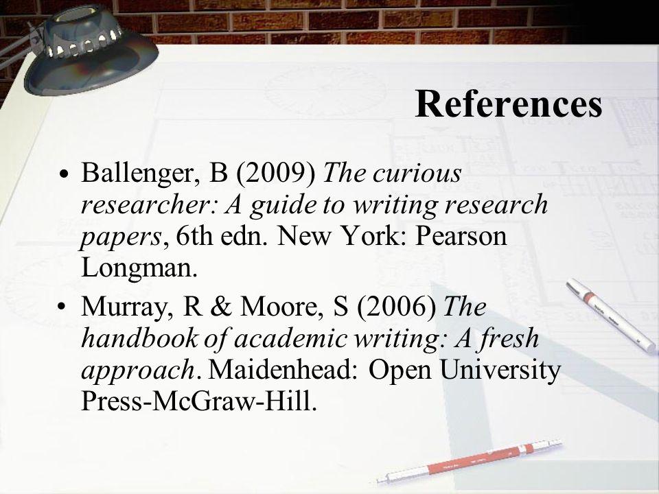 Readings Morss, K.& Murray, R.