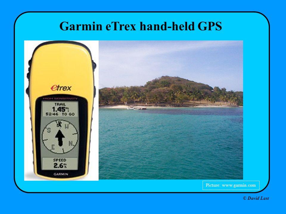 Garmin eTrex hand-held GPS Picture: www.garmin.com