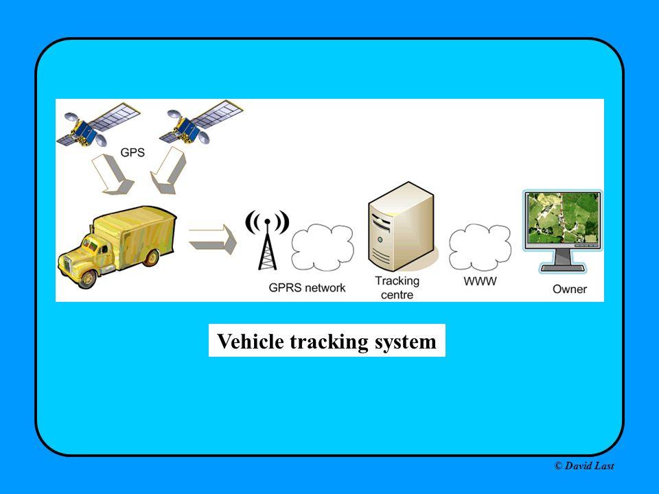 © David Last Vehicle tracking system