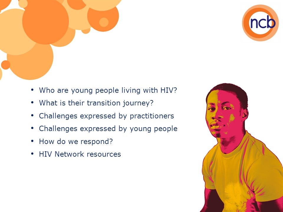 Who are young people living with HIV. What is their transition journey.