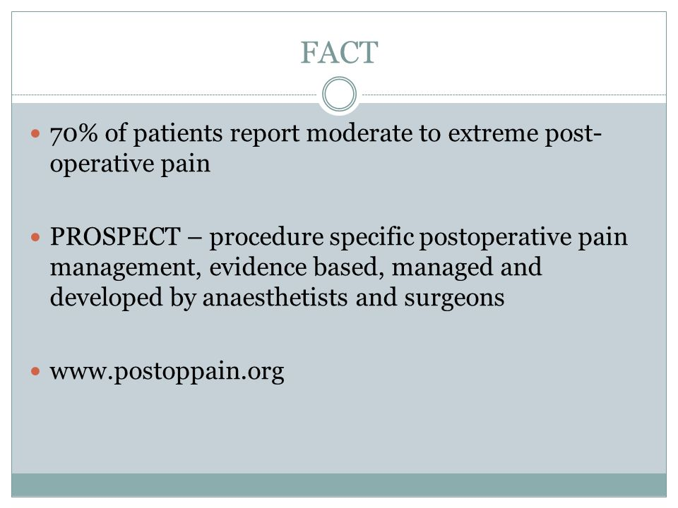 Femoral nerve block improves analgesia outcomes after TKA PAIN SCORE AT REST: 24 HOURS Paul et al 2010 Anaesthesiology