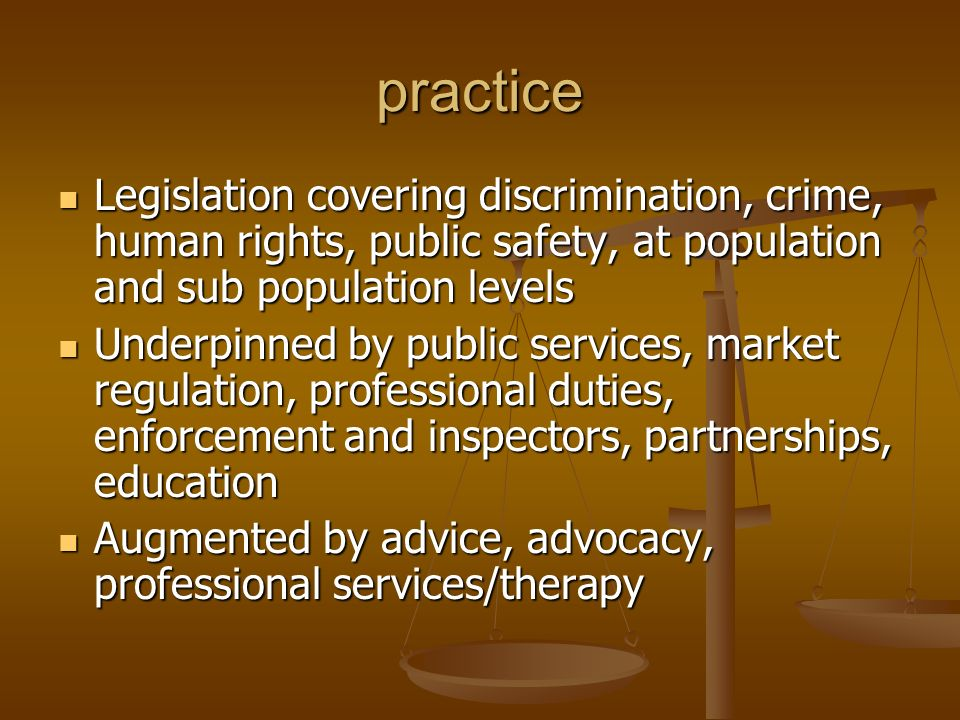 Secondary Rights and duties to investigate, share data, override other general duties Rights and duties to investigate, share data, override other general duties Support for alleged victims and perpetrators Support for alleged victims and perpetrators Surveillance, risk assessments, screening Surveillance, risk assessments, screening Codes of practice, policies and procedures Codes of practice, policies and procedures