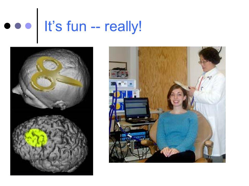 Its fun -- really!