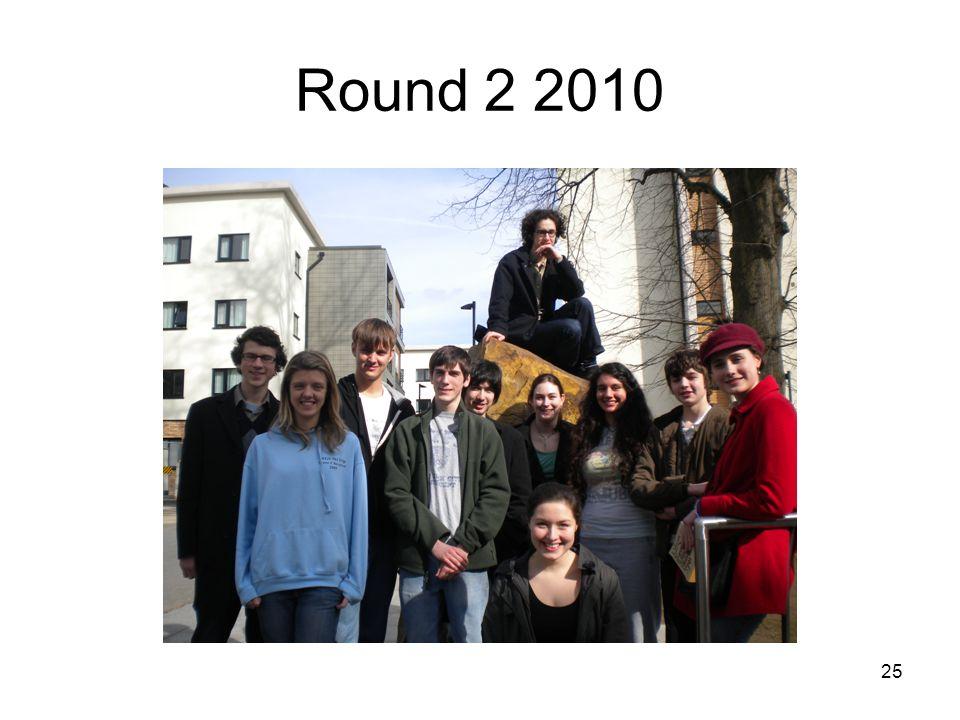 25 Round 2 2010