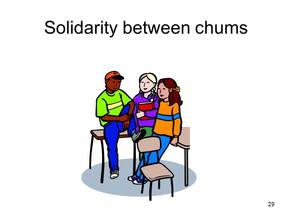 29 Solidarity between chums