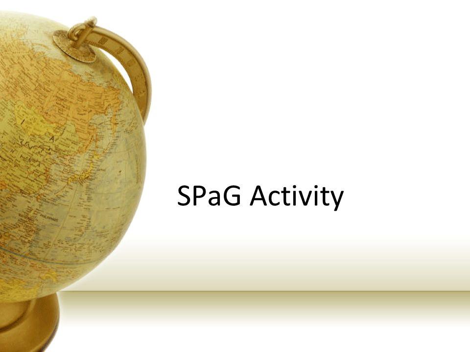 SPaG Activity