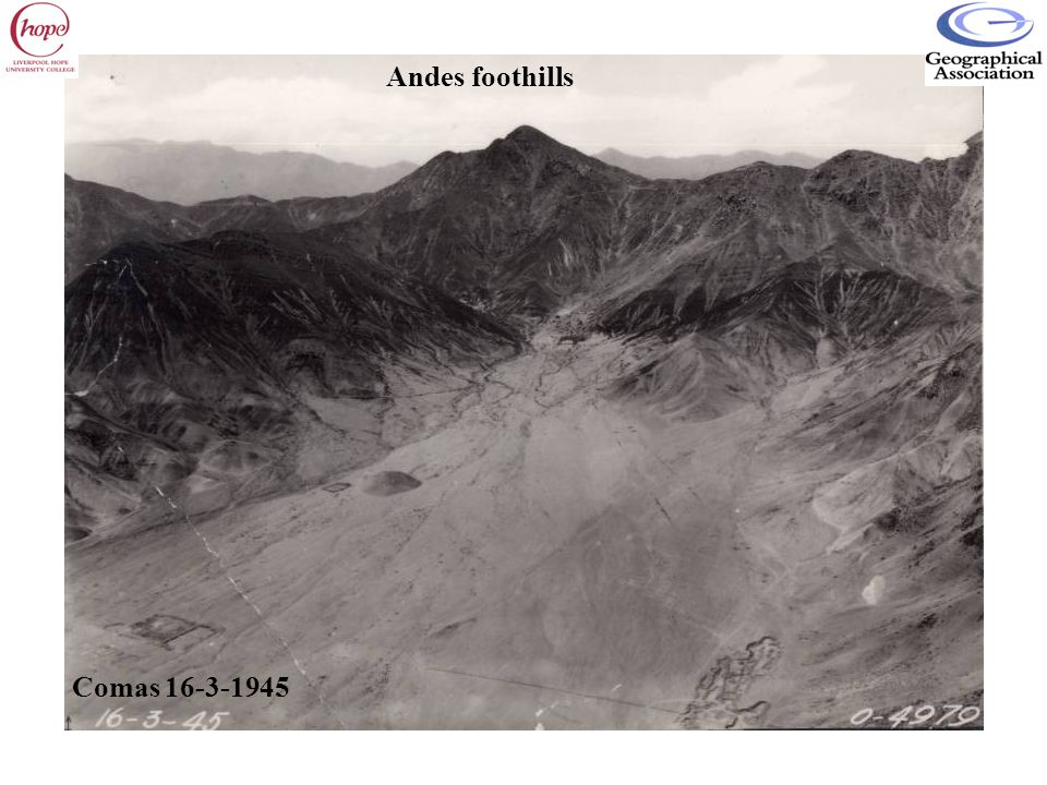 Comas 16-3-1945 Andes foothills