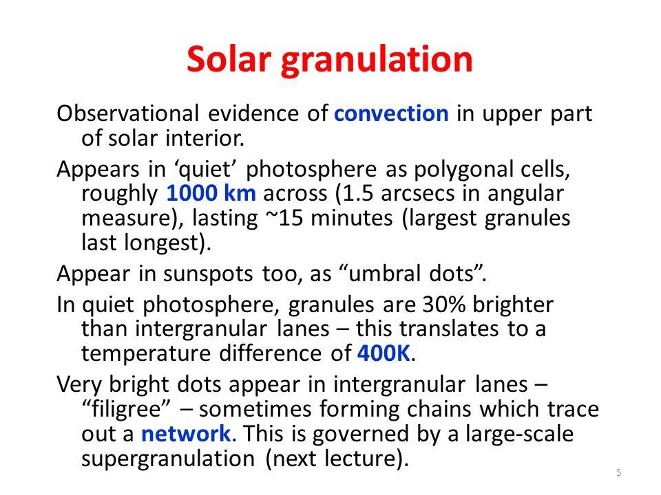 THE SOLAR CHROMOSPHERE 16