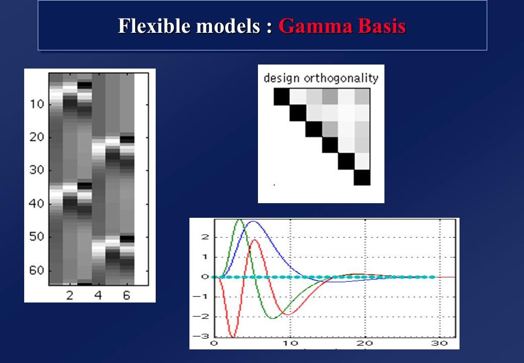Flexible models : Gamma Basis
