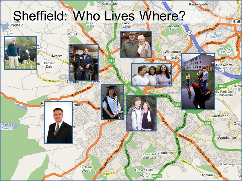 Sheffield: Who Lives Where