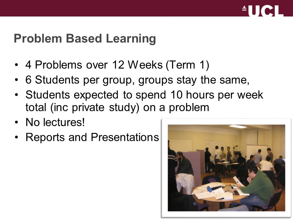 History of Student-Centred Learning in E&EE 2004 – Problem Based Learning Modules Begin 2008 – First Scenario Weeks Piloted STUDENT–CENTRED LEARNING: