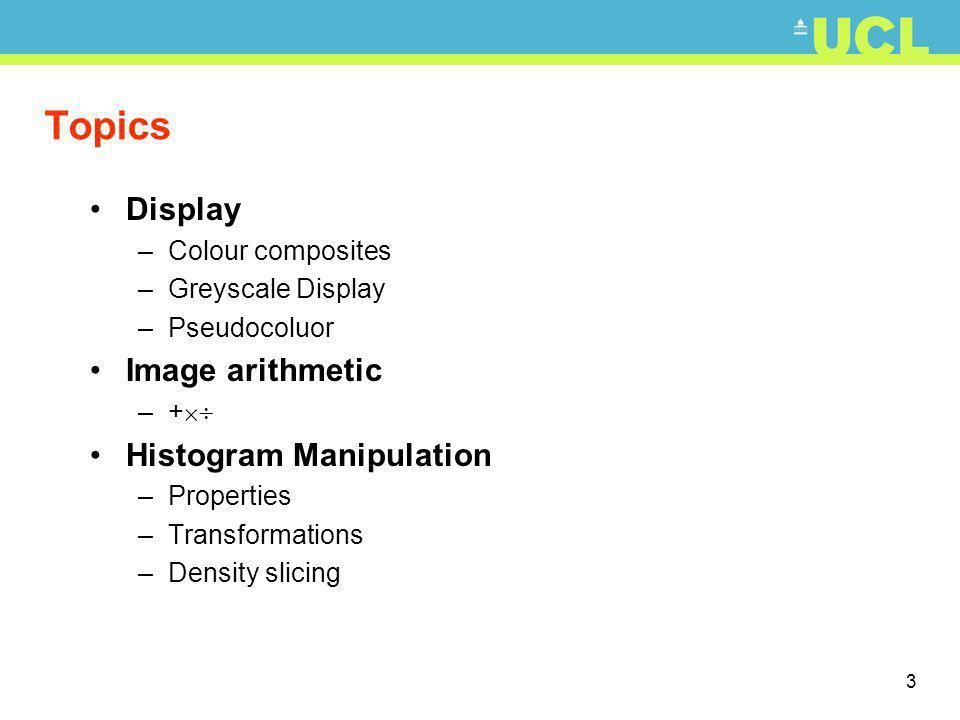 34 Histogram Manipulation Typical histogram manipulation algorithms: Linear Transformation input output 0 255 0