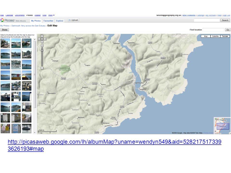 http://picasaweb.google.com/lh/albumMap?uname=wendyn549&aid=528217517339 3626193#map