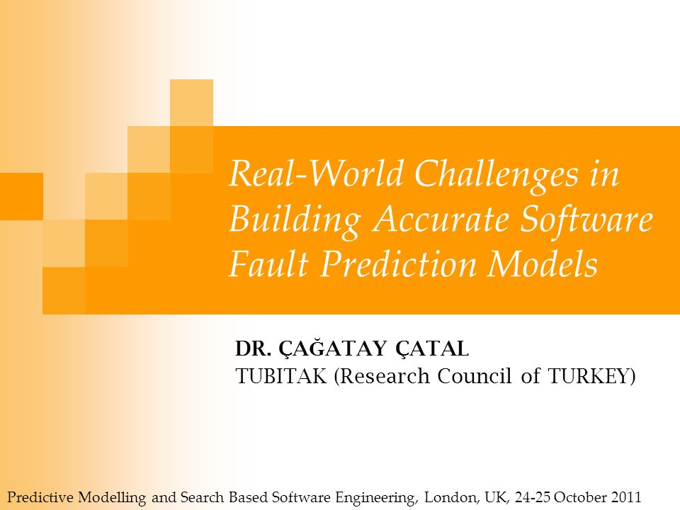 Real-World Challenges in Building Accurate Software Fault Prediction Models DR.