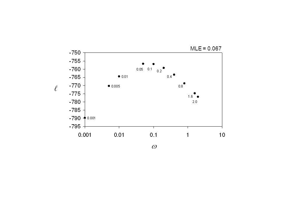 MLE = 0.067