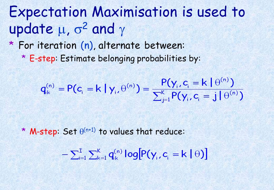Levenberg-Marquardt Optimisation *LM optimisation is used for nonlinear registration ( ) and bias correction ( ). *Requires first and second derivativ