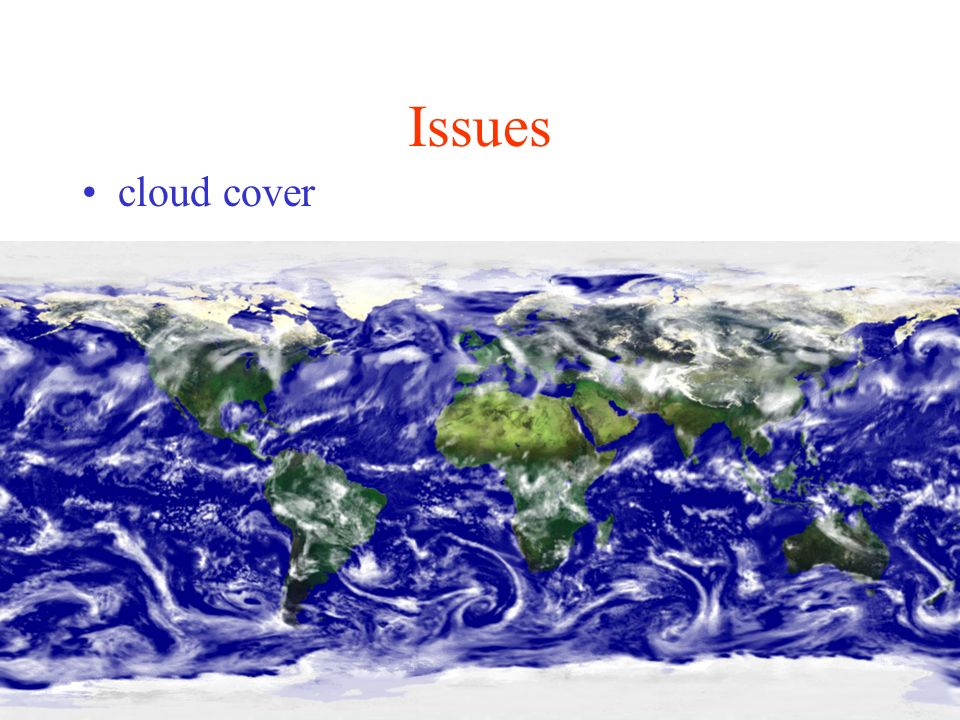 Issues cloud cover