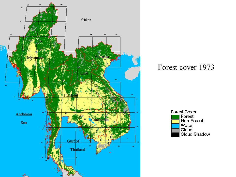 Forest cover 1973