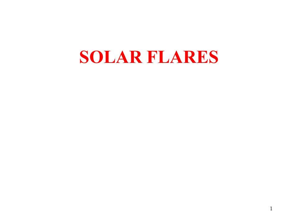 SOLAR FLARES 1