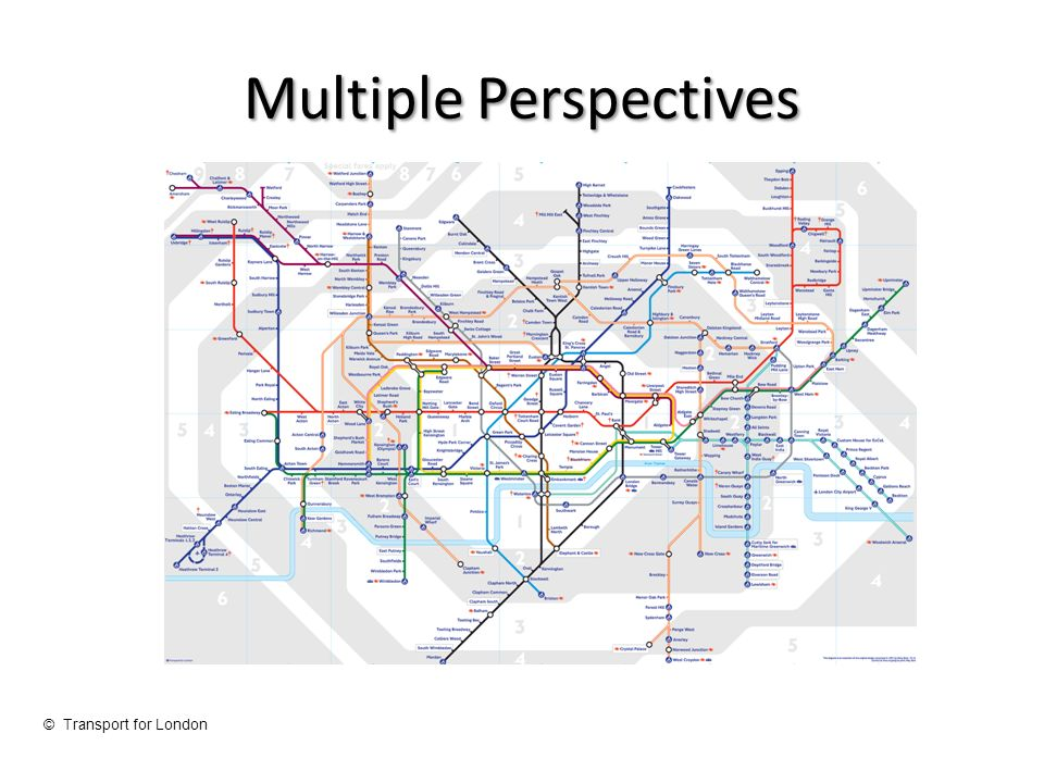Multiple Perspectives © Transport for London