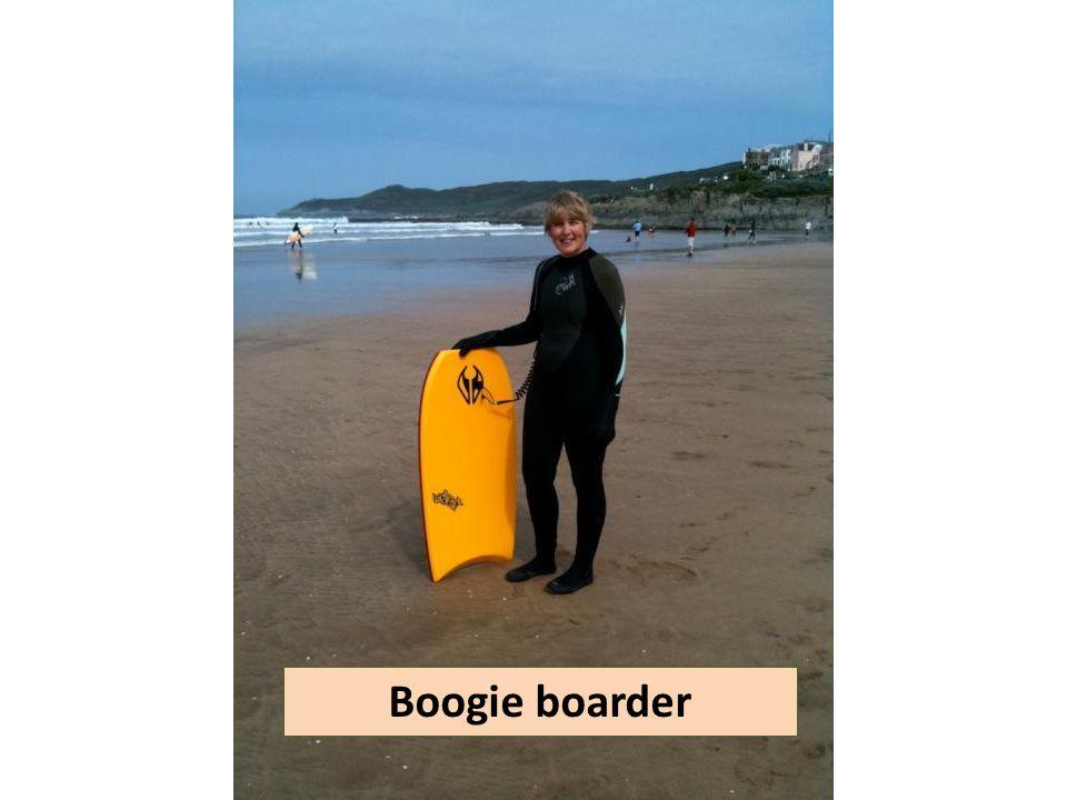 Boogie boarder