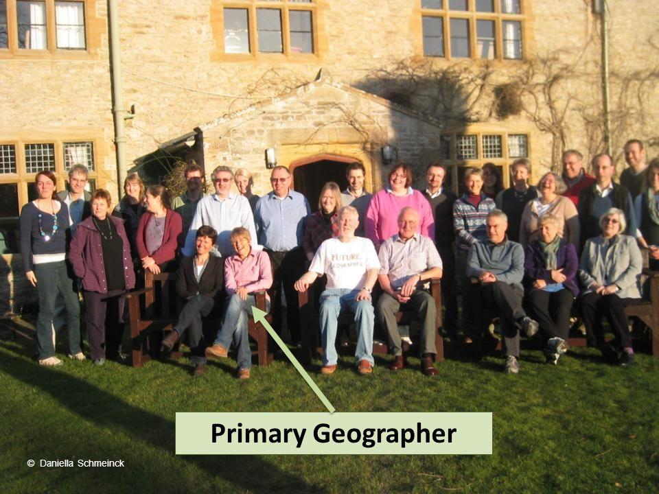 Primary Geographer © Daniella Schmeinck