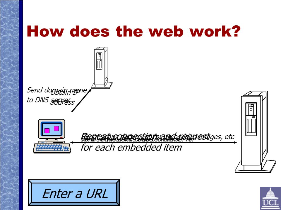 How does the web work.